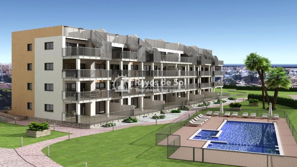 Apartment  in Villamartin, Orihuela Costa, Costa Blanca (vgardens2-gf-3d) - 1