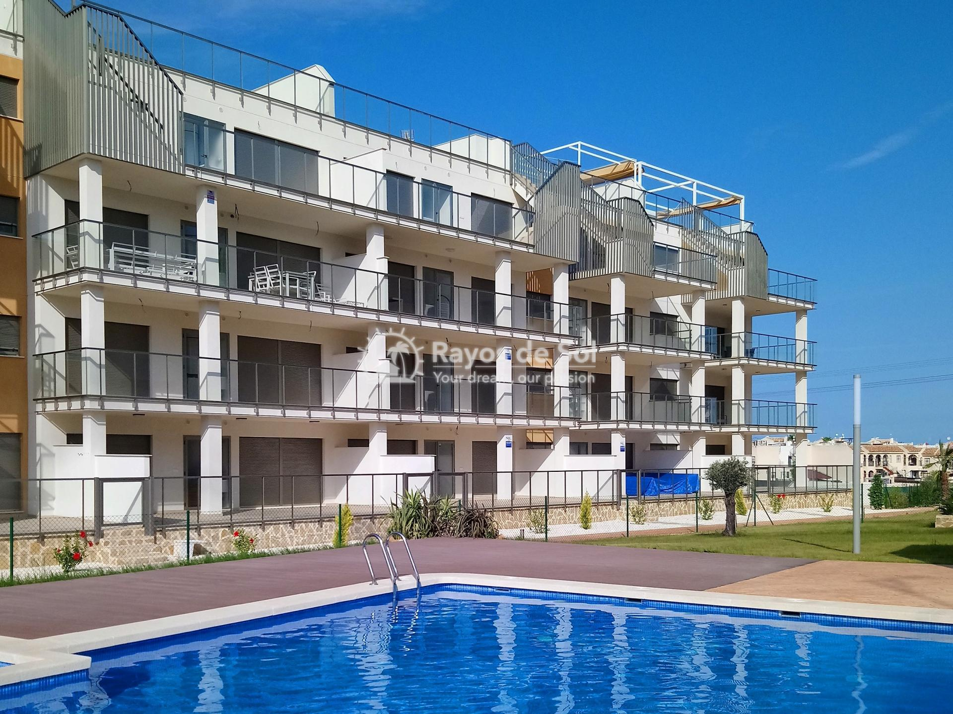 Apartment  in Los Dolses, Orihuela Costa, Costa Blanca (vgardens2-ph-3d) - 1