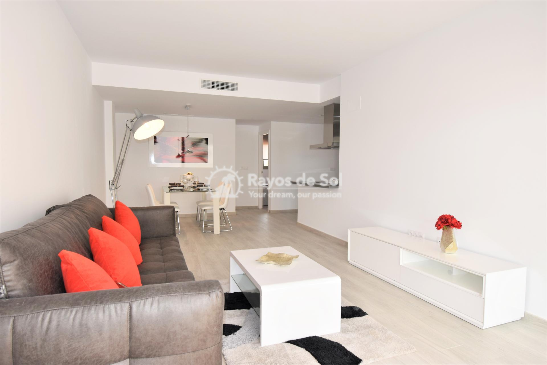 Apartment  in Los Dolses, Orihuela Costa, Costa Blanca (vgardens2-ph-3d) - 3