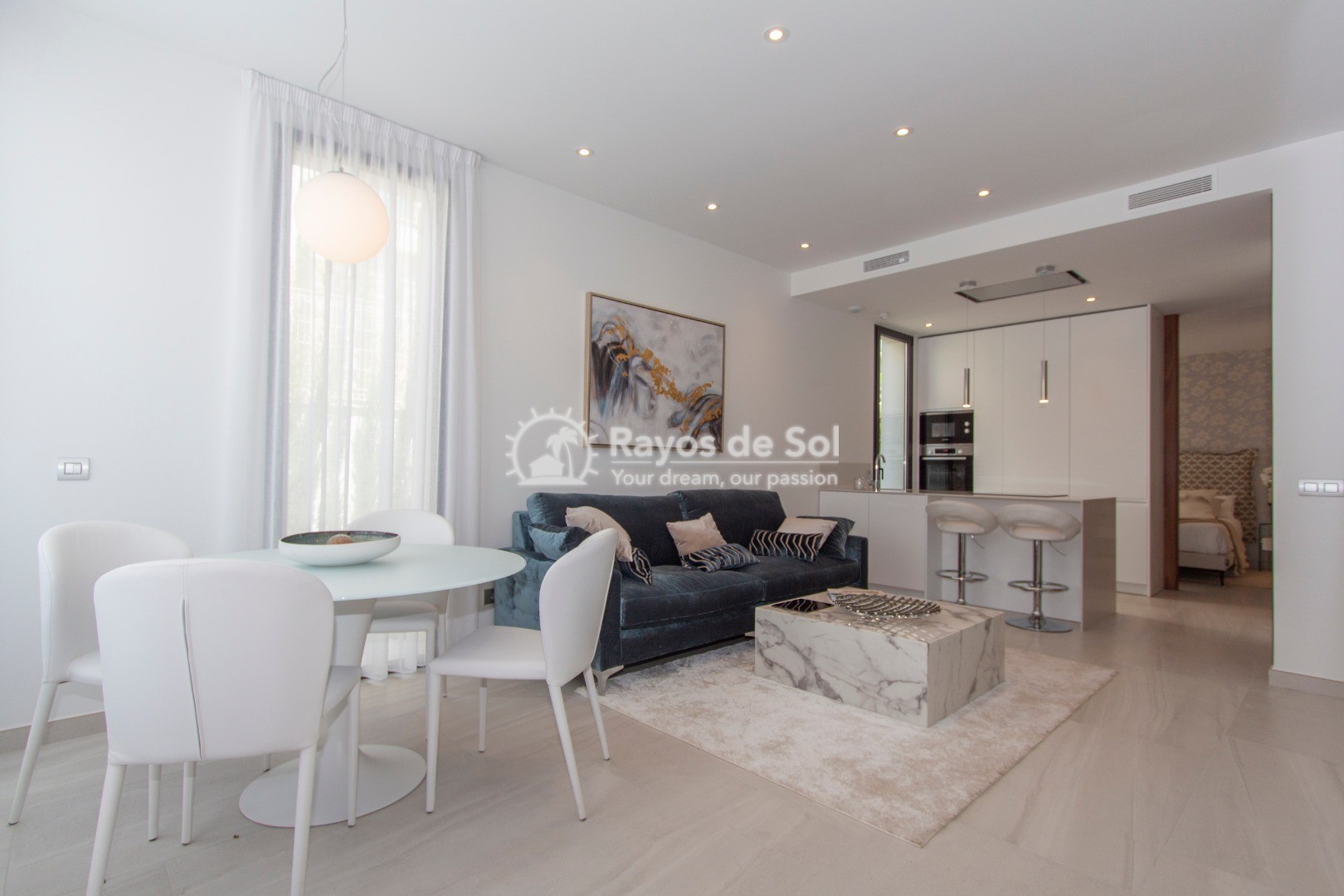 Villa  in Finestrat, Costa Blanca (seaview-semid) - 3