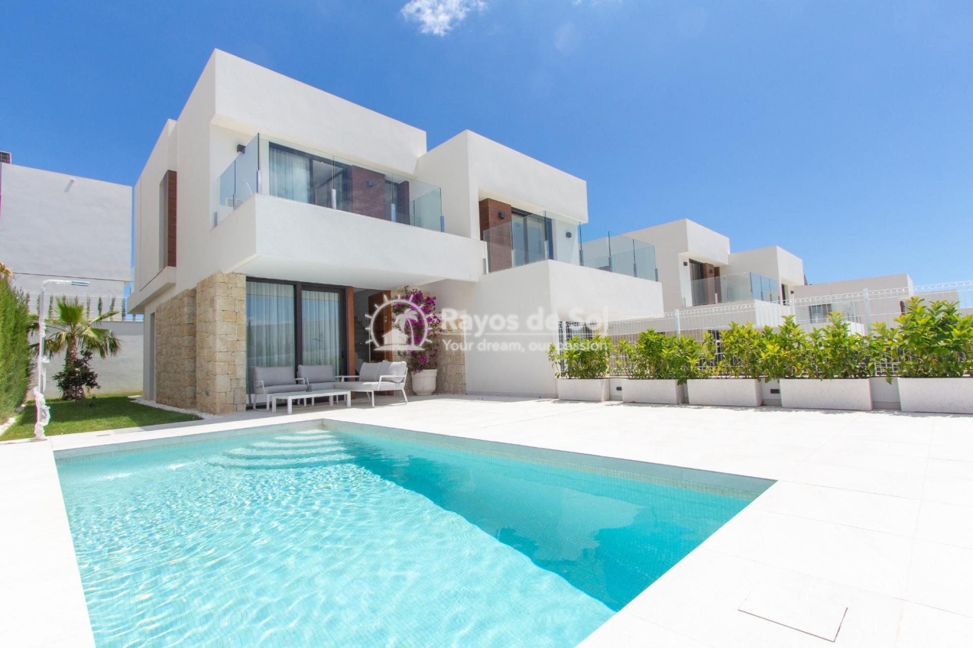 Villa  in Finestrat, Costa Blanca (seaview-semid) - 1