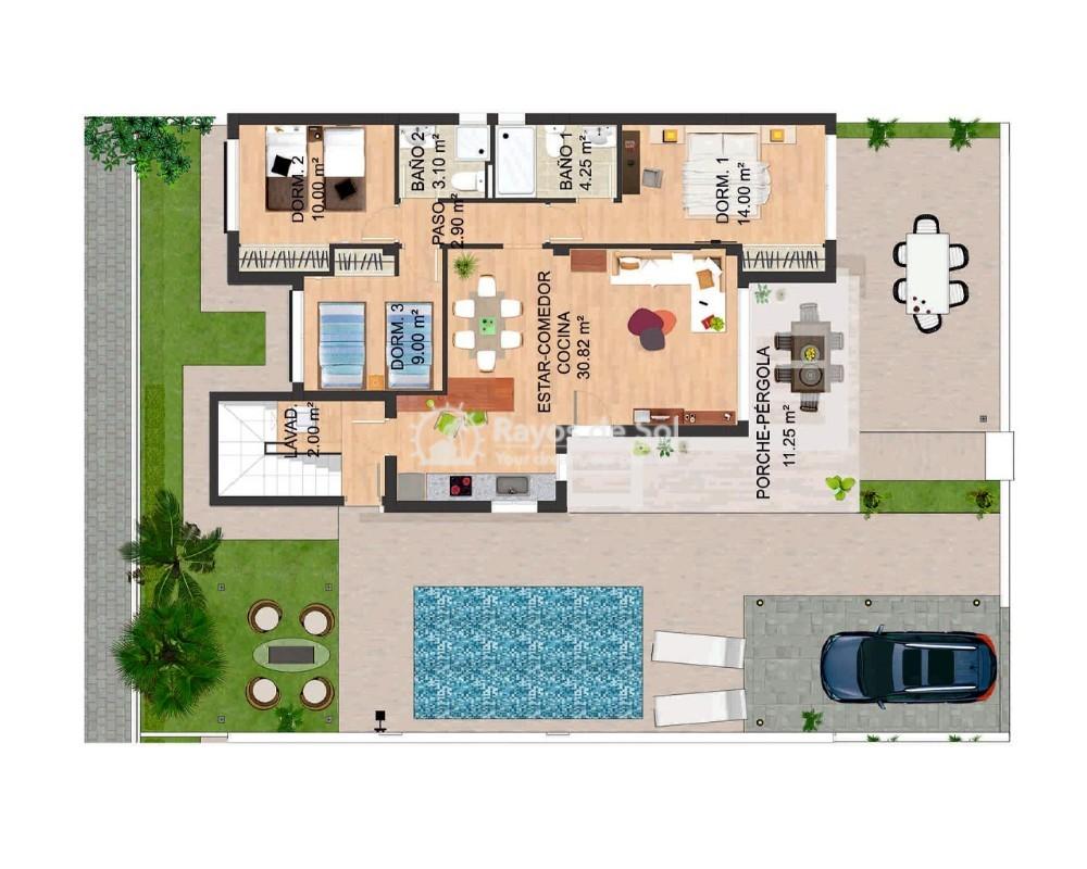 Villa  in Torrevieja, Costa Blanca (sunlife-eva) - 17