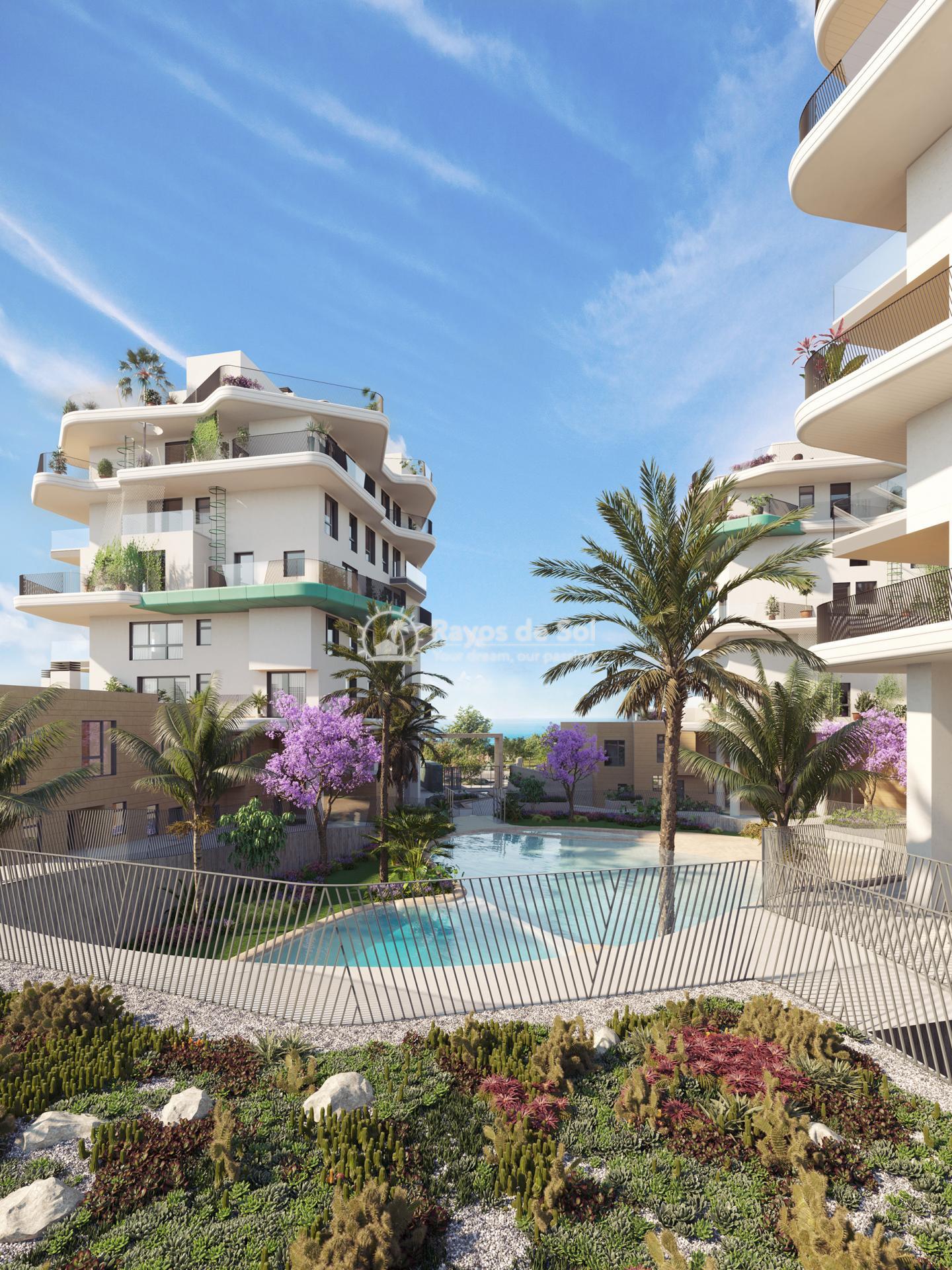 Apartment  in Villajoyosa, Costa Blanca (aqua-2d) - 1