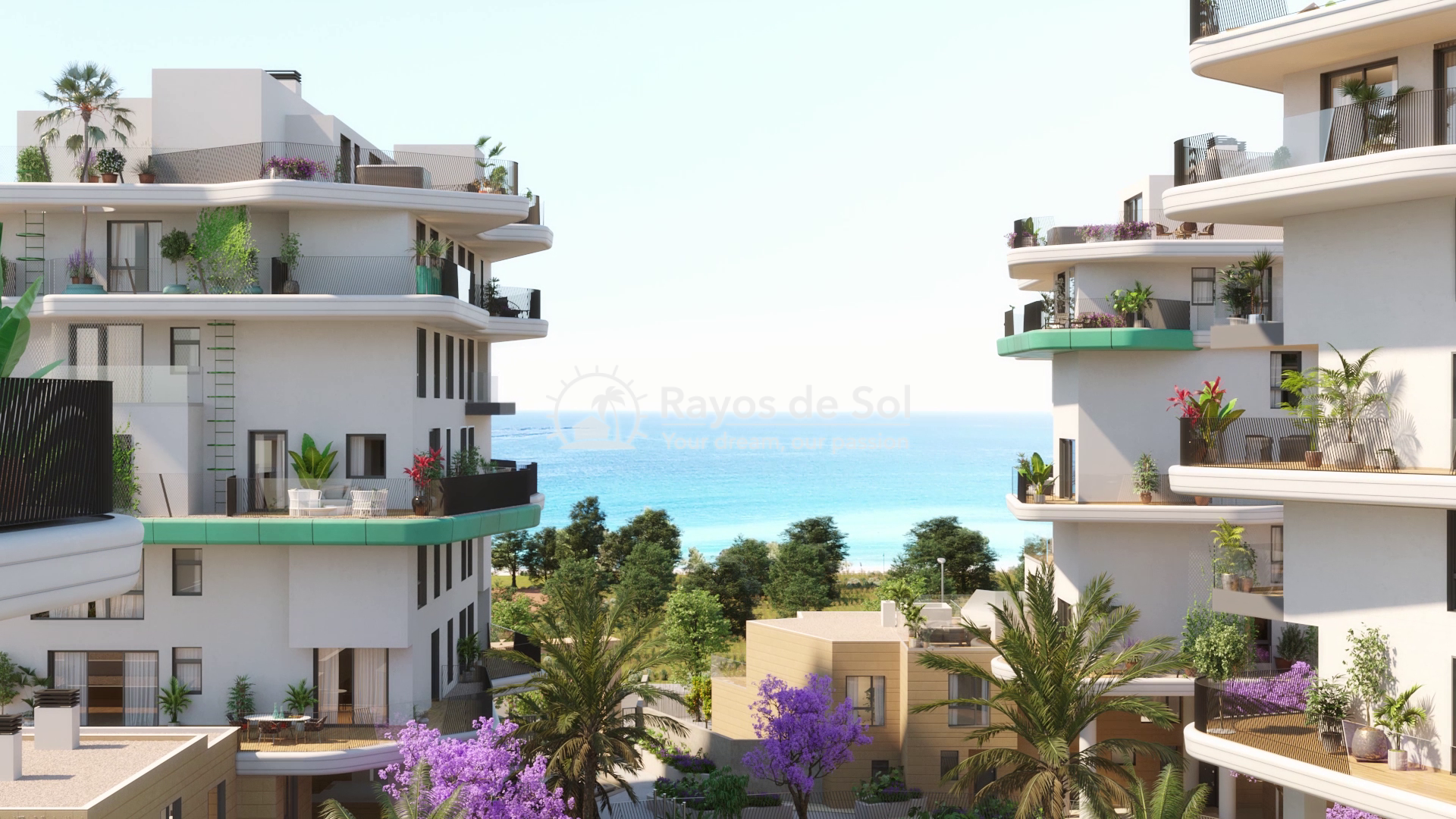 Apartment  in Villajoyosa, Costa Blanca (aqua-3d) - 1