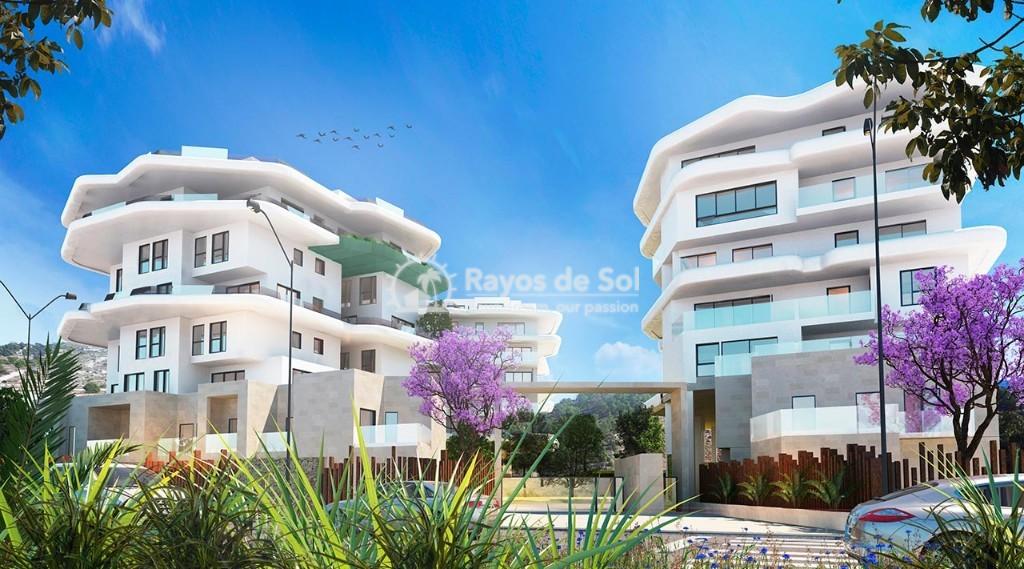 Semi-detached villa  in Villajoyosa, Costa Blanca (aqua-chalet-3d) - 1