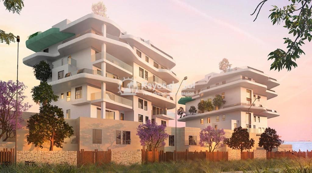 Semi-detached villa  in Villajoyosa, Costa Blanca (aqua-chalet-3d) - 16