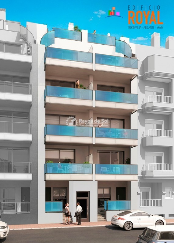 Apartment  in Torrevieja, Costa Blanca (eroyal2-tipo) - 1