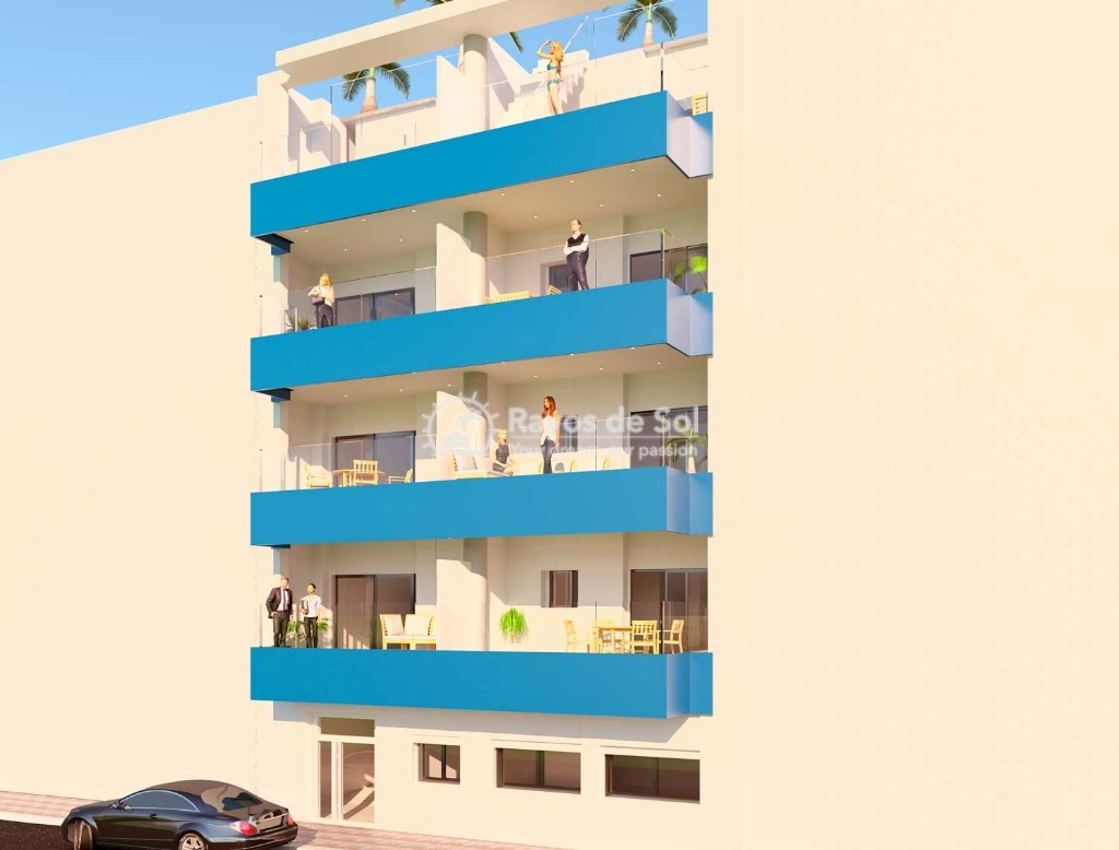 Apartment  in Torrevieja, Costa Blanca (skan-atico-2d) - 1