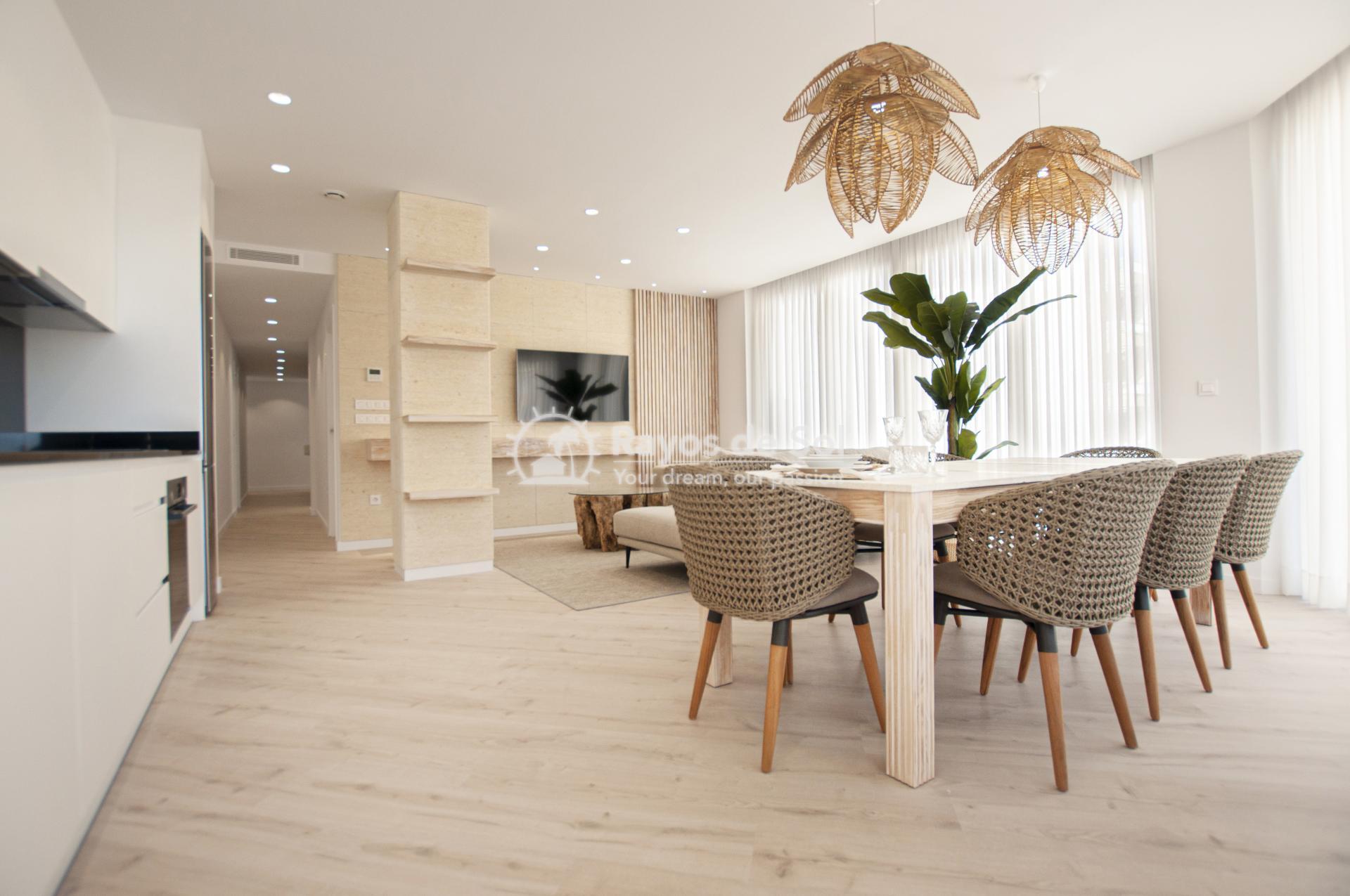Apartment  in Guardamar del Segura, Costa Blanca (portalmar-tipo-2d) - 3