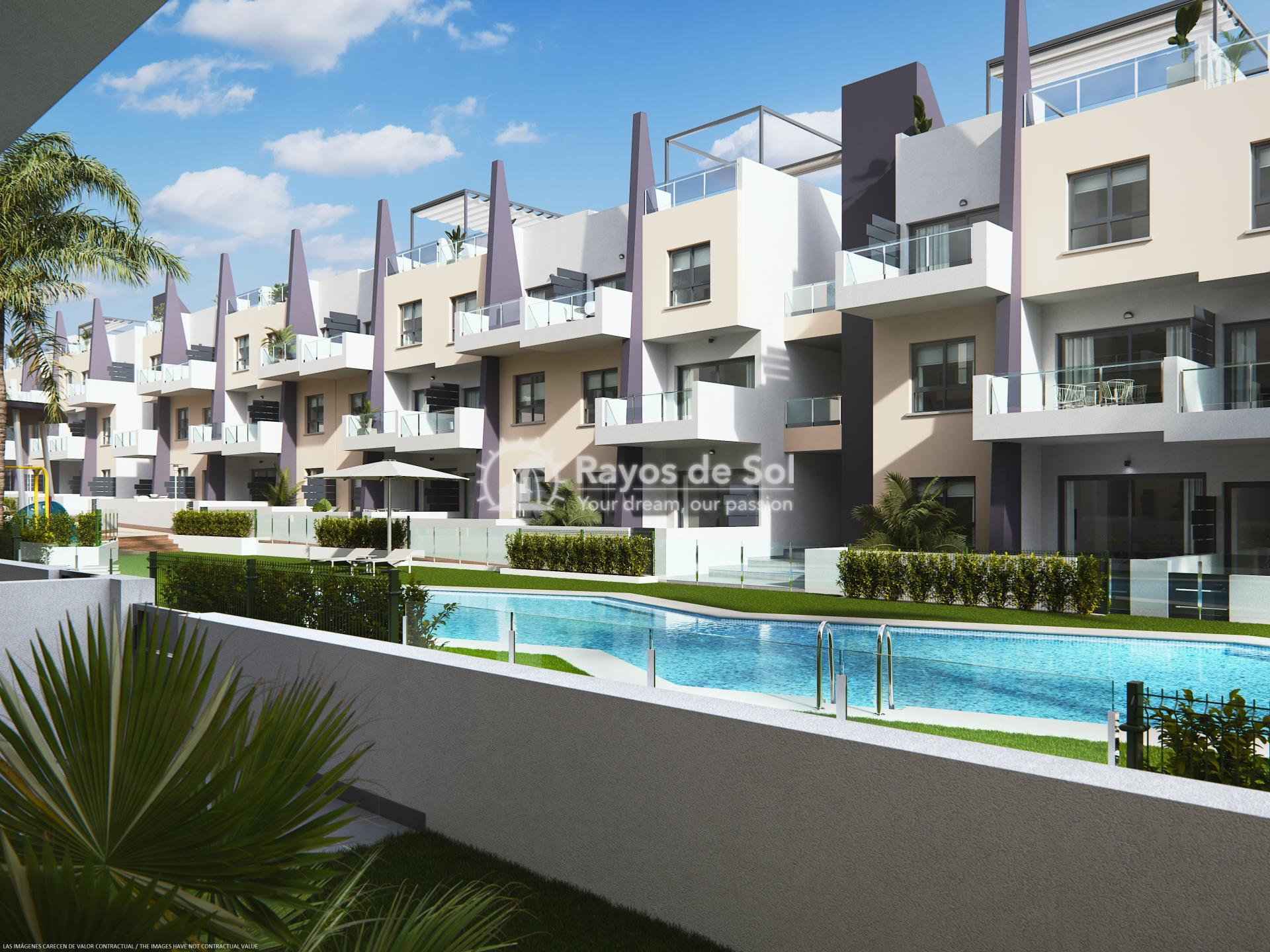 Apartment  in Torre de la Horadada, Pilar de la Horadada, Costa Blanca (bianca-bajo-3d) - 12