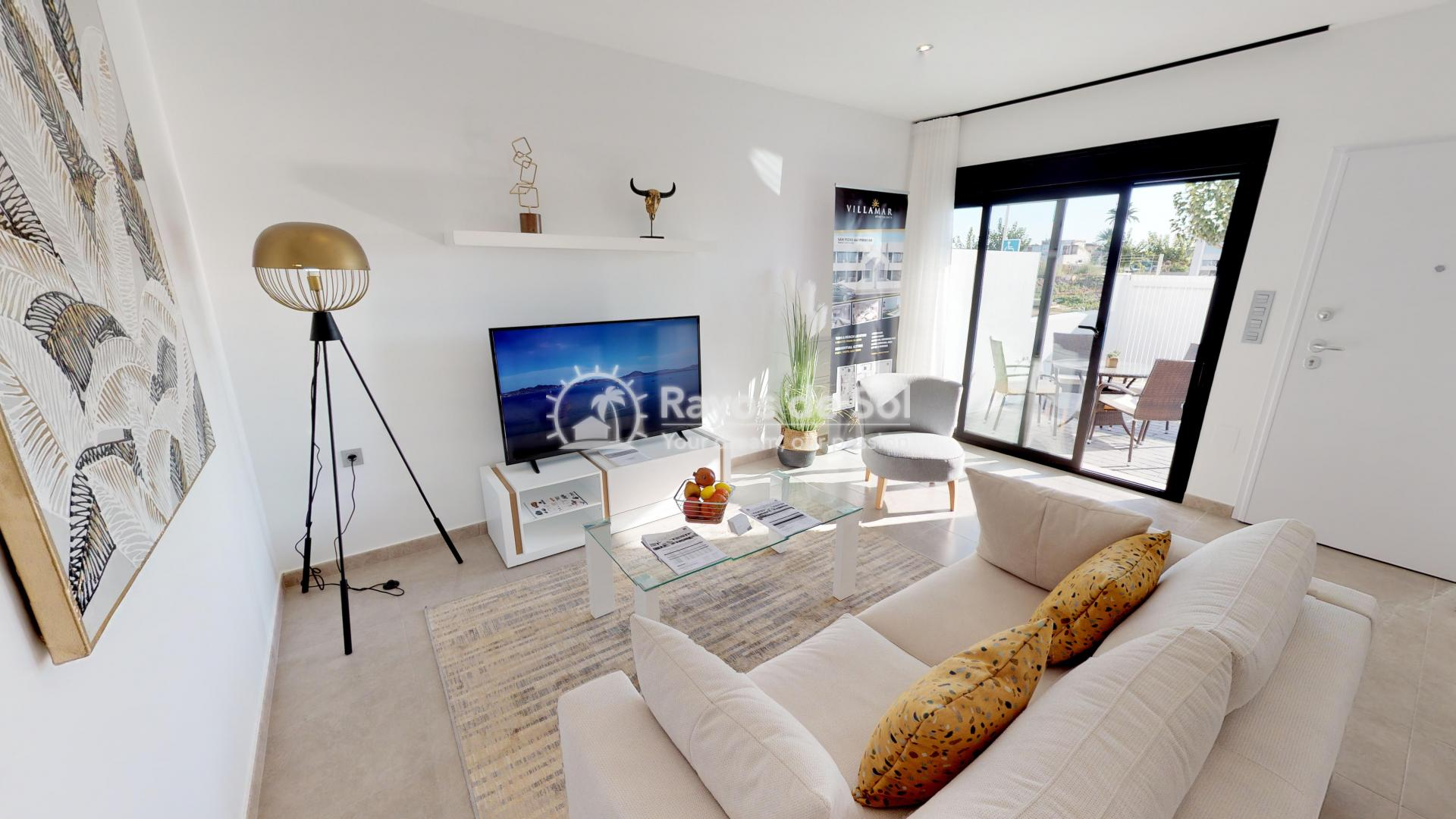 Ground Floor Apartment  in San Pedro del Pinatar, Costa Cálida (villamar1-bajo) - 3