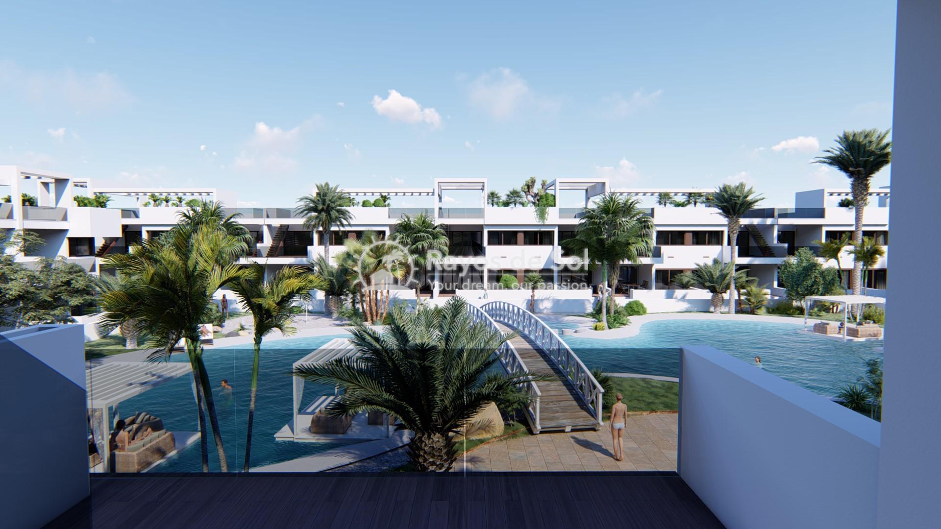 Penthouse  in Torrevieja, Costa Blanca (lagunabeach-bungalow-alto) - 2