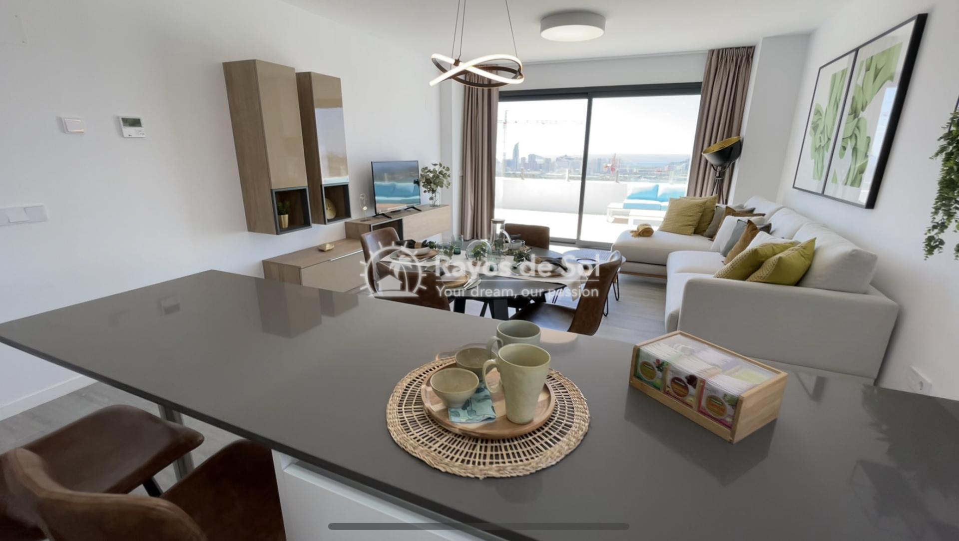 Apartment  in Finestrat, Costa Blanca (camporrosso-bajo) - 6