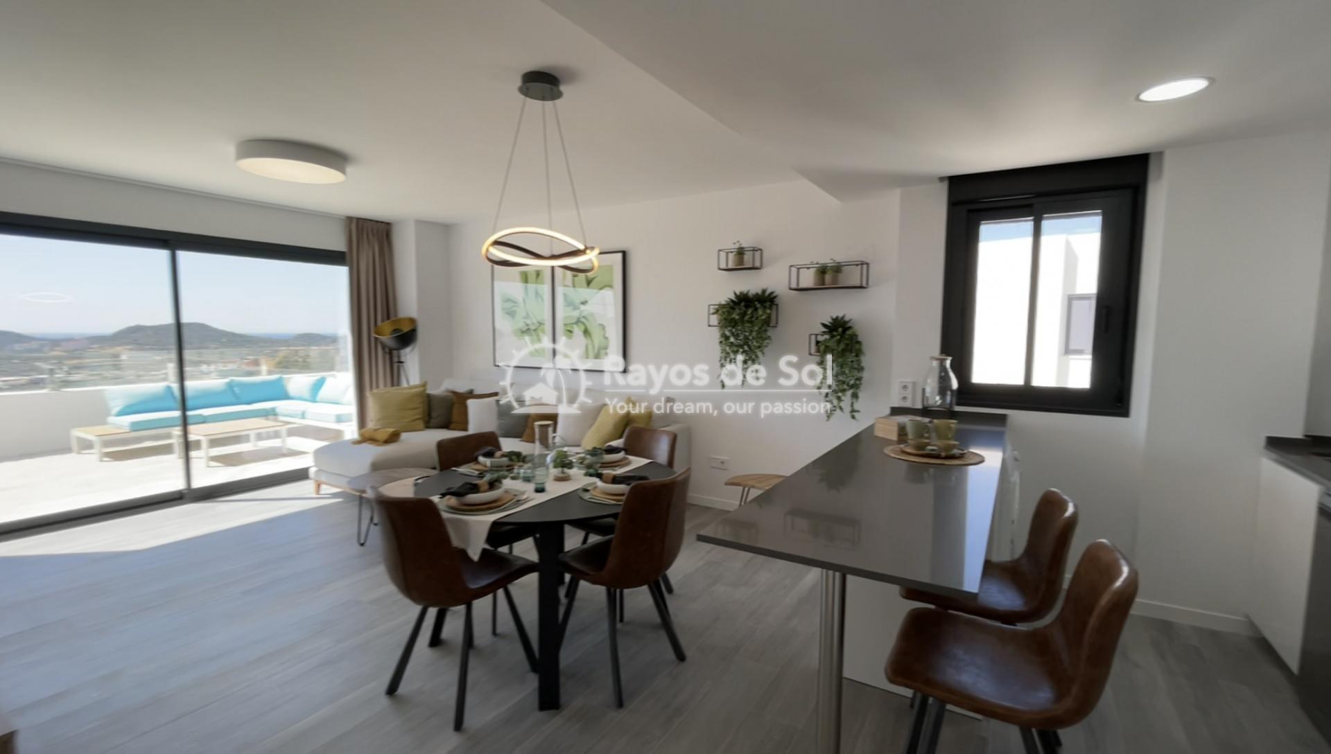Apartment  in Finestrat, Costa Blanca (camporrosso-bajo) - 3