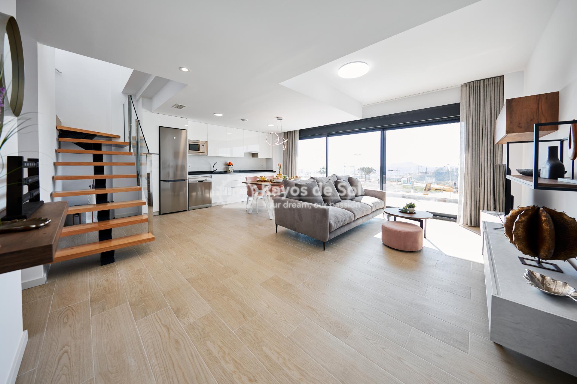 Penthouse  in Finestrat, Costa Blanca (camporrosso-duplex-A) - 3
