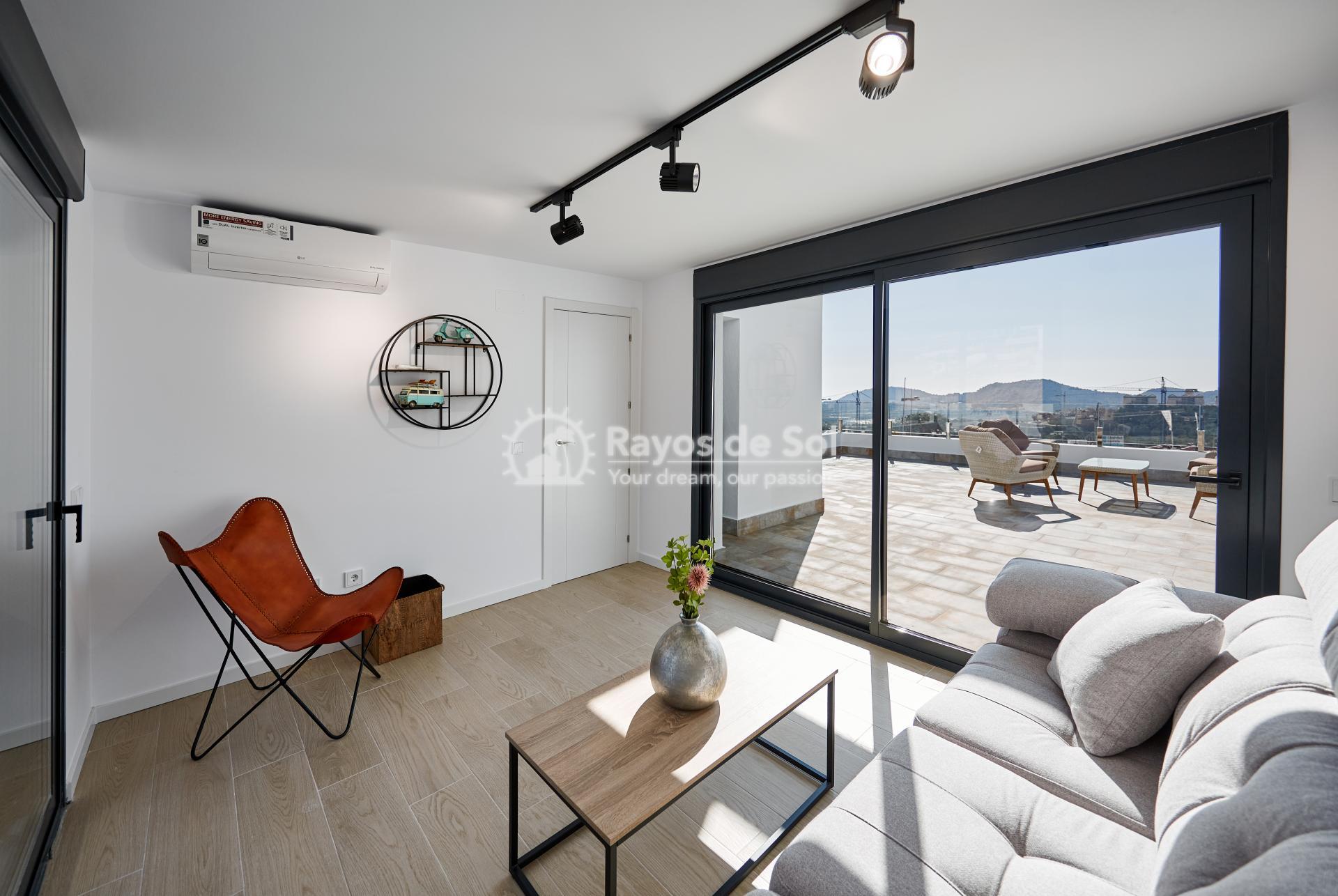 Penthouse  in Finestrat, Costa Blanca (camporrosso-duplex-A) - 13