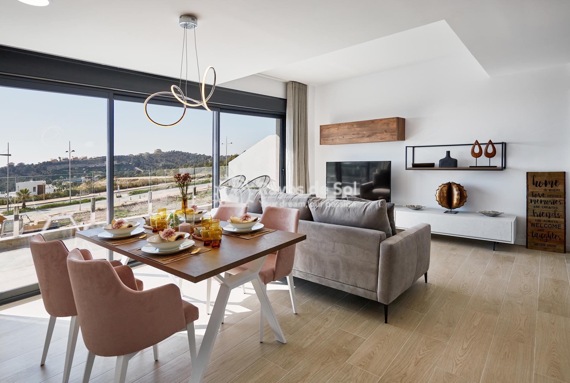 Penthouse  in Finestrat, Costa Blanca (camporrosso-duplex-A) - 10