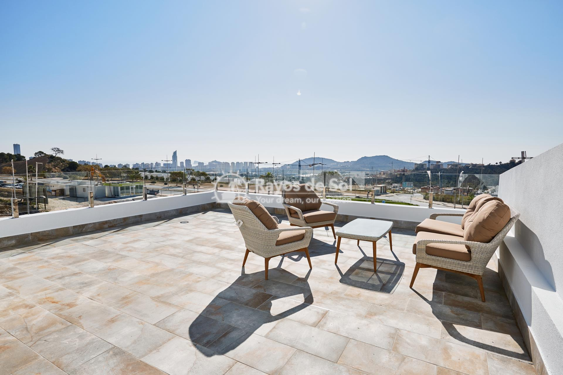 Penthouse  in Finestrat, Costa Blanca (camporrosso-duplex-A) - 1