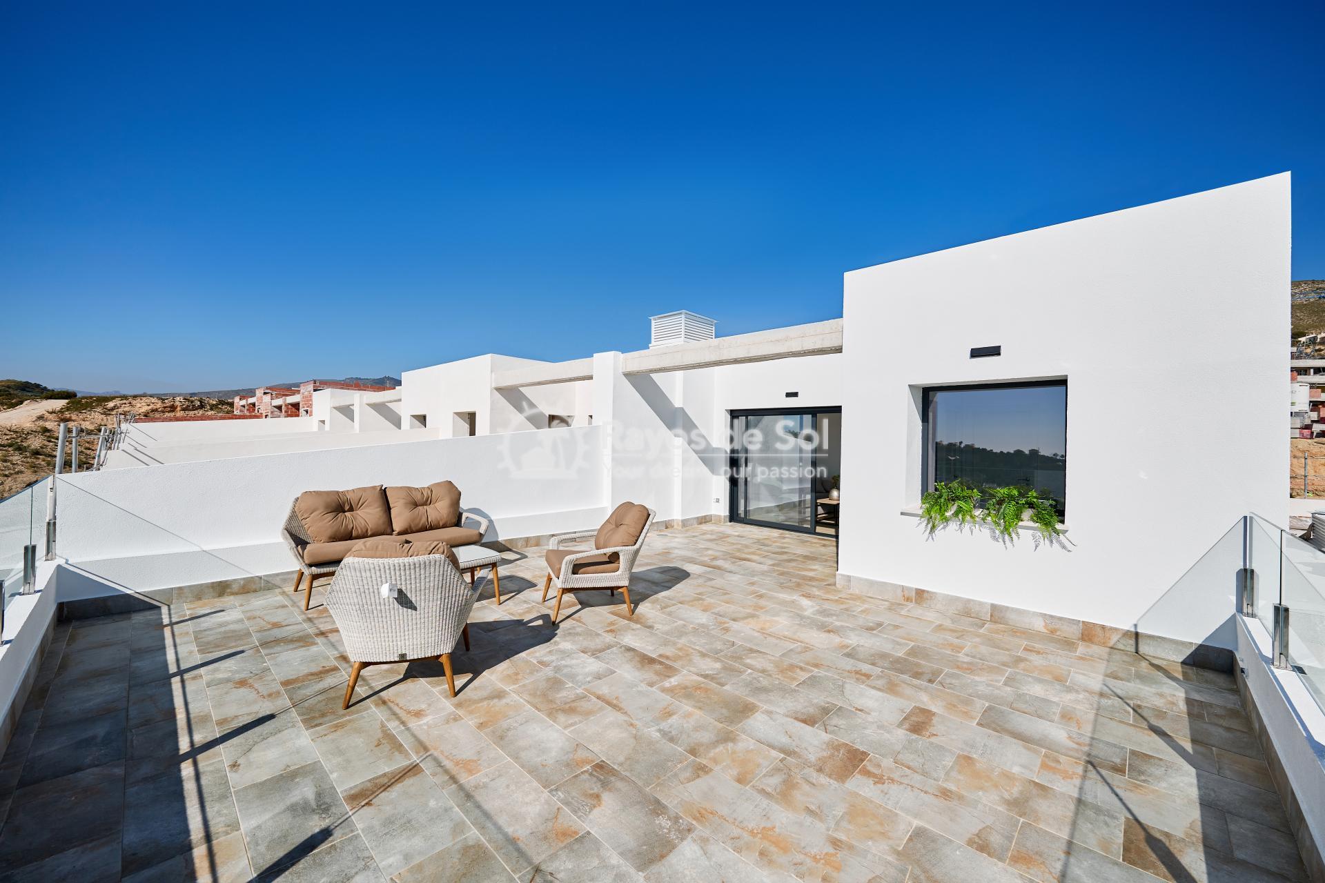 Penthouse  in Finestrat, Costa Blanca (camporrosso-duplex-A) - 33