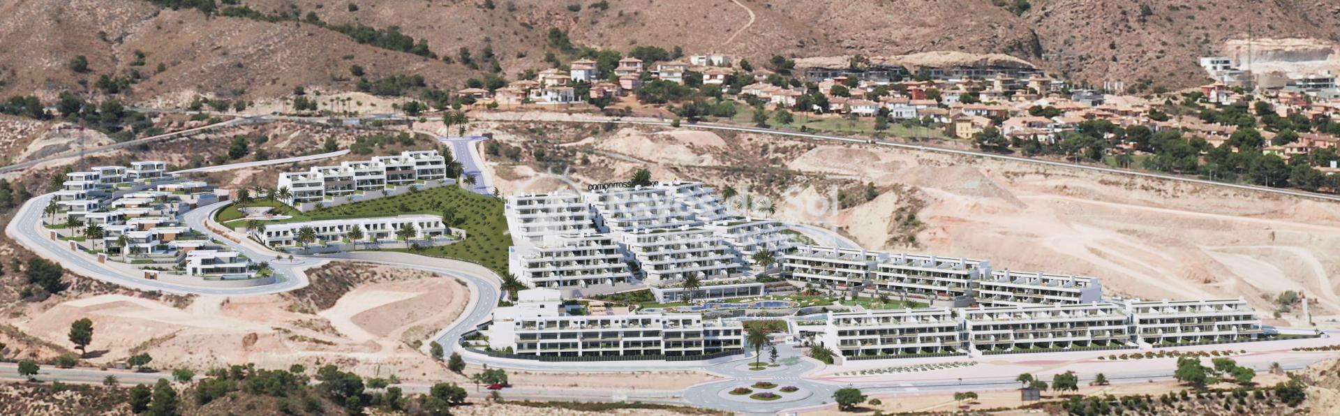 Penthouse  in Finestrat, Costa Blanca (camporrosso-duplex-A) - 35