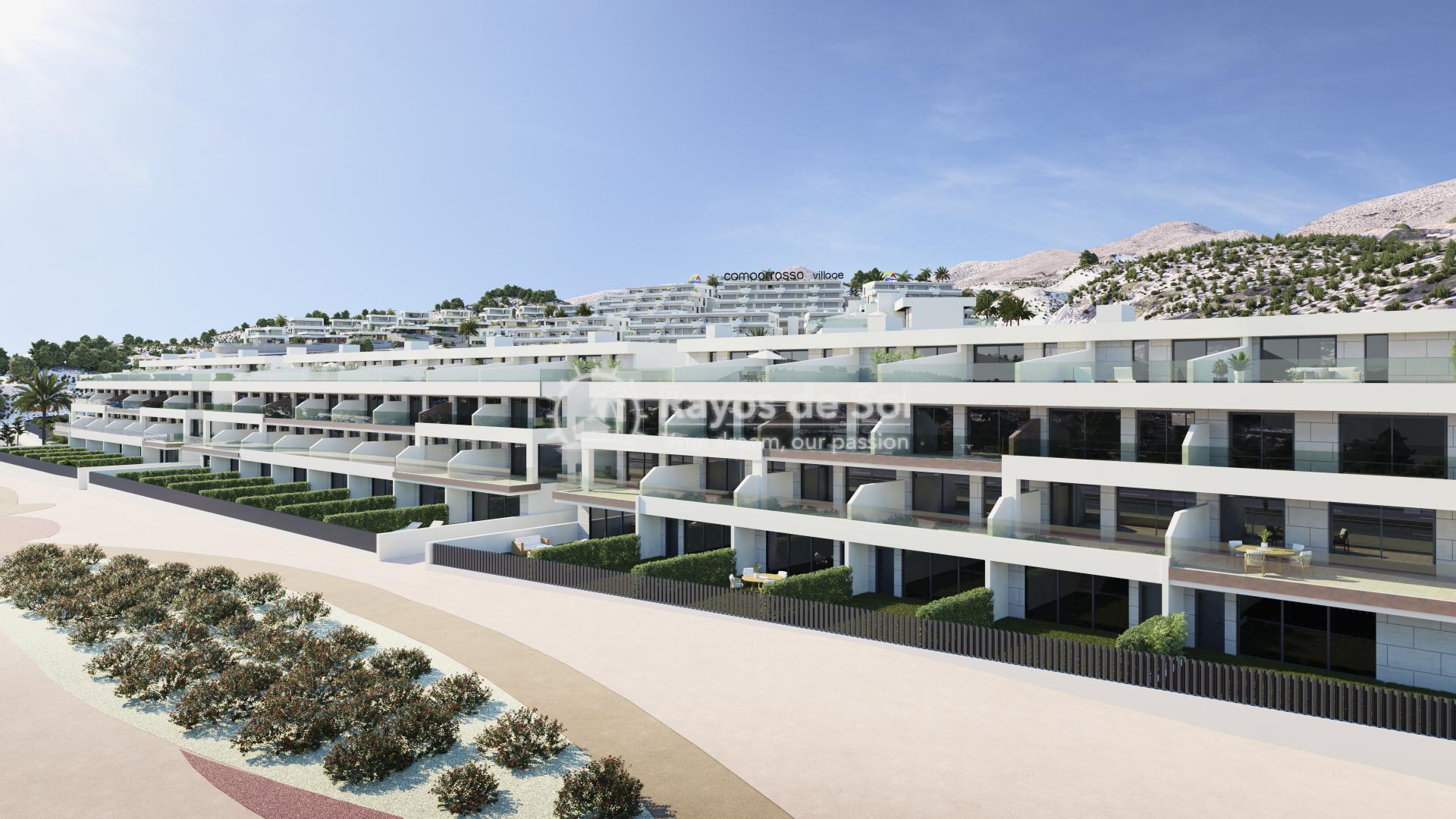 Penthouse  in Finestrat, Costa Blanca (camporrosso-duplex-A) - 38