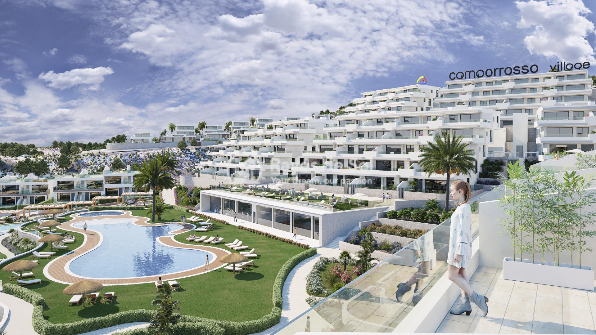 Penthouse  in Finestrat, Costa Blanca (camporrosso-duplex-A) - 56