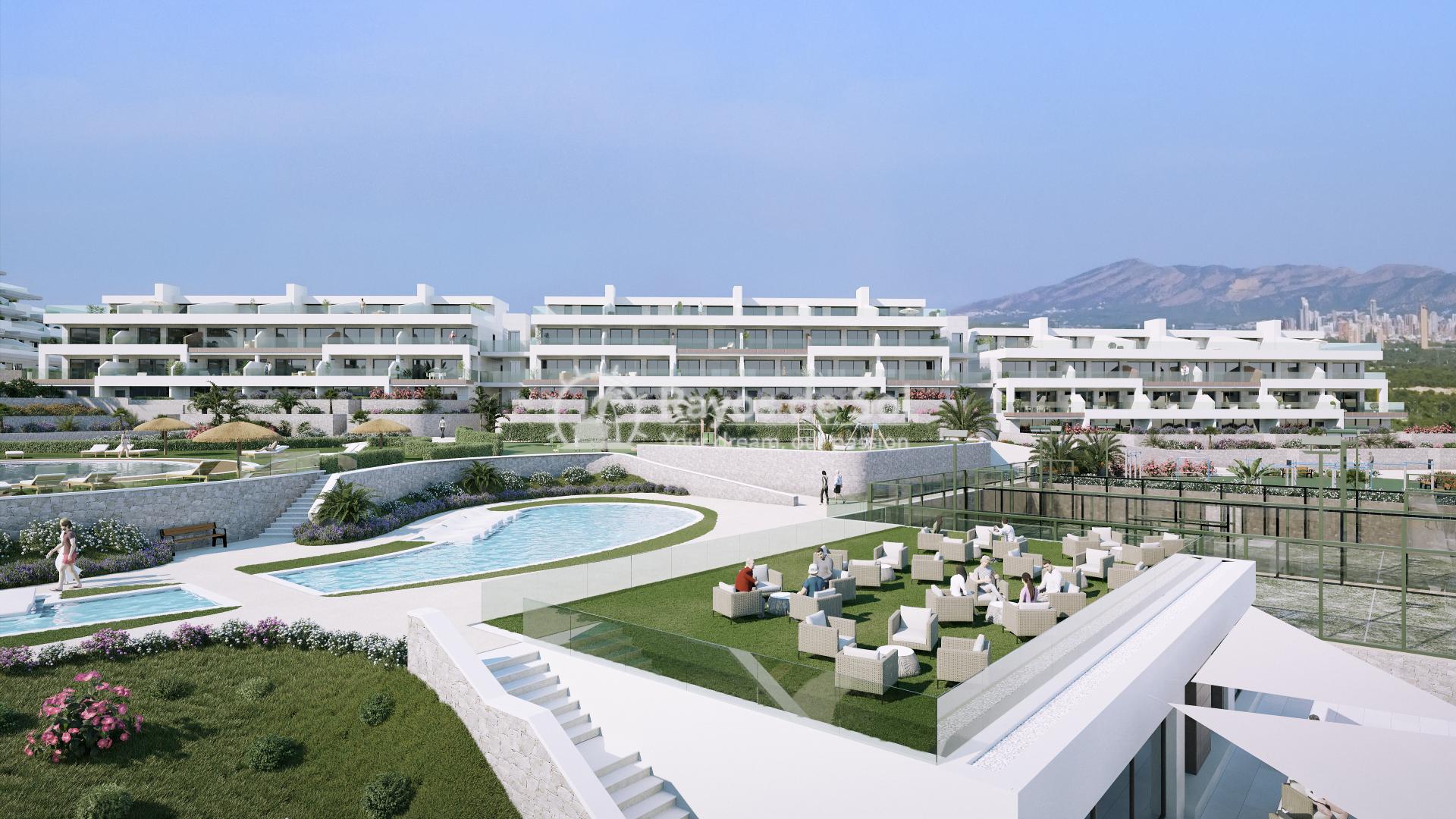 Penthouse  in Finestrat, Costa Blanca (camporrosso-duplex-A) - 60