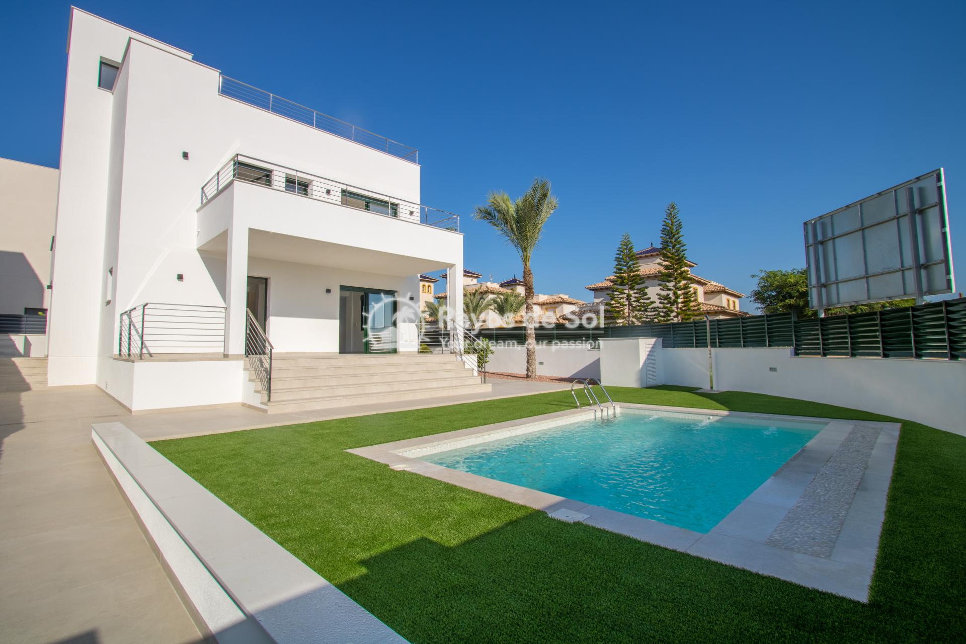 Detached villa  in La Marina, Costa Blanca (npinet15-3d-villa) - 1