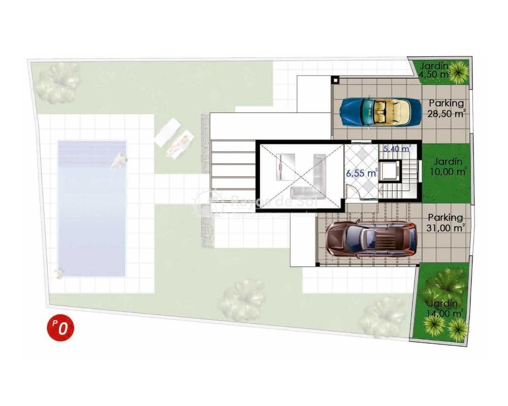 Villa  in Ciudad Quesada, Costa Blanca (cq2-terrazasg) - 2