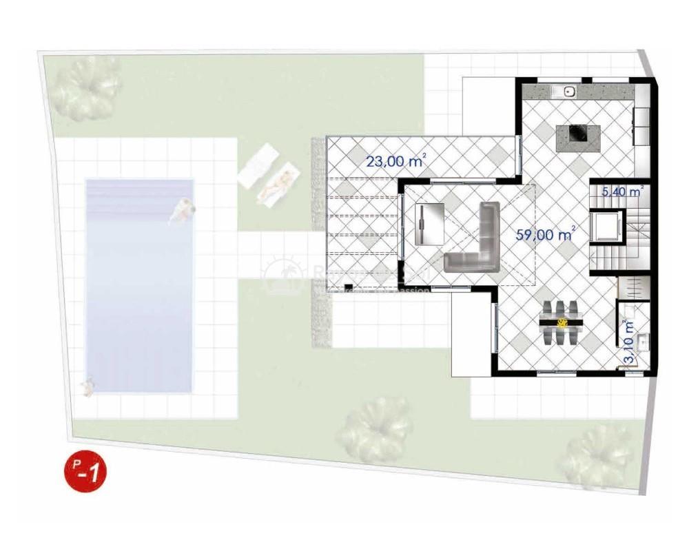 Villa  in Ciudad Quesada, Costa Blanca (cq2-terrazasg) - 3