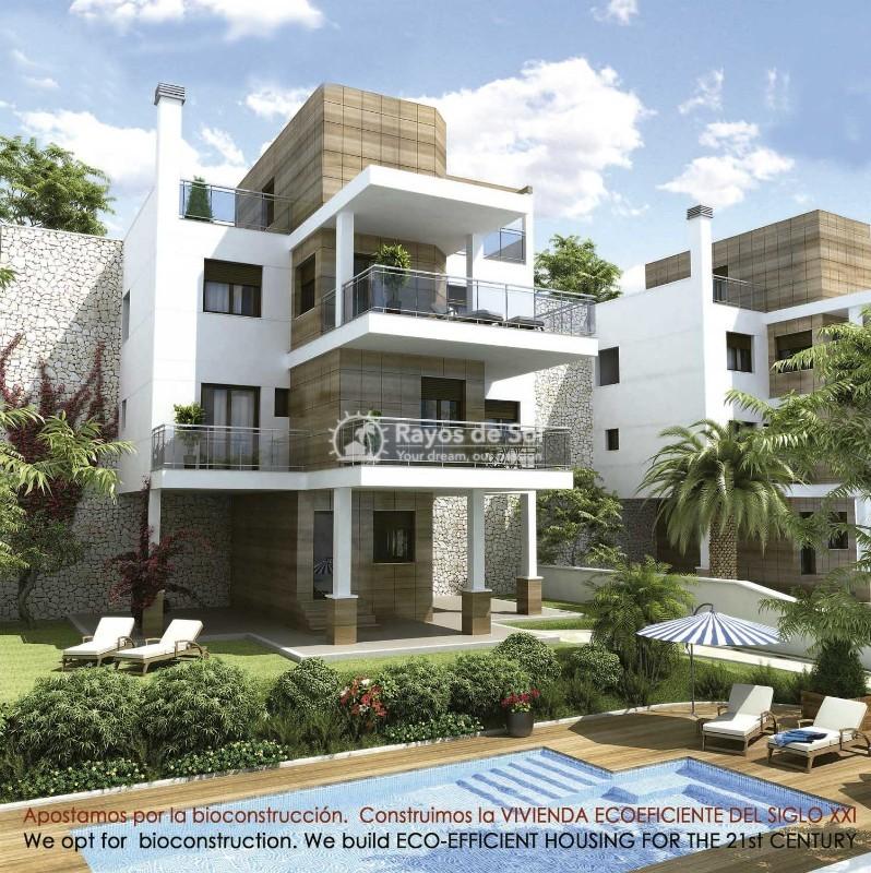 Villa  in Ciudad Quesada, Costa Blanca (cq2-terrazasg) - 1
