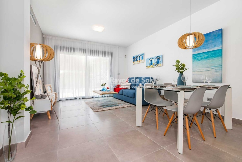 Ground Floor Apartment  in Pilar de la Horadada, Costa Blanca (lamar4-1d-tf) - 2