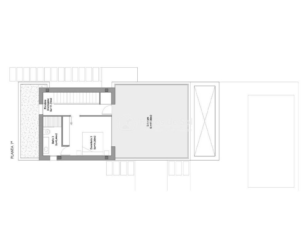 Villa  in Los Montesinos, Costa Blanca (montesinosv-4d) - 27