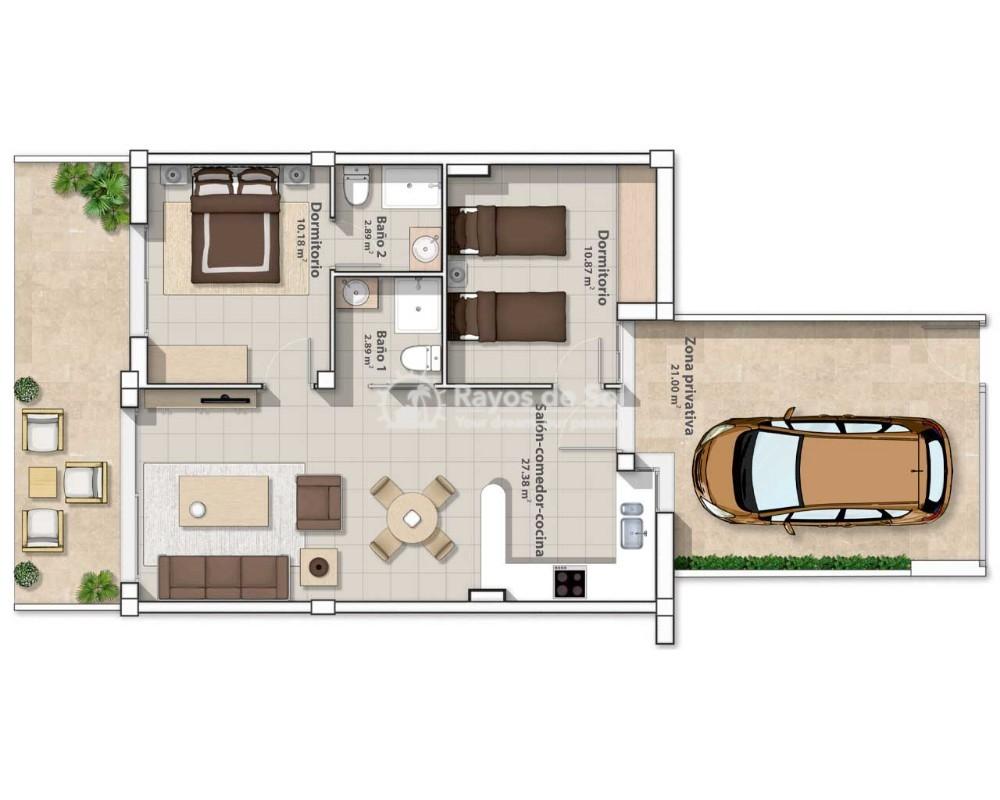 Ground Floor Apartment  in San Pedro del Pinatar, Costa Cálida (belich2-gf) - 16