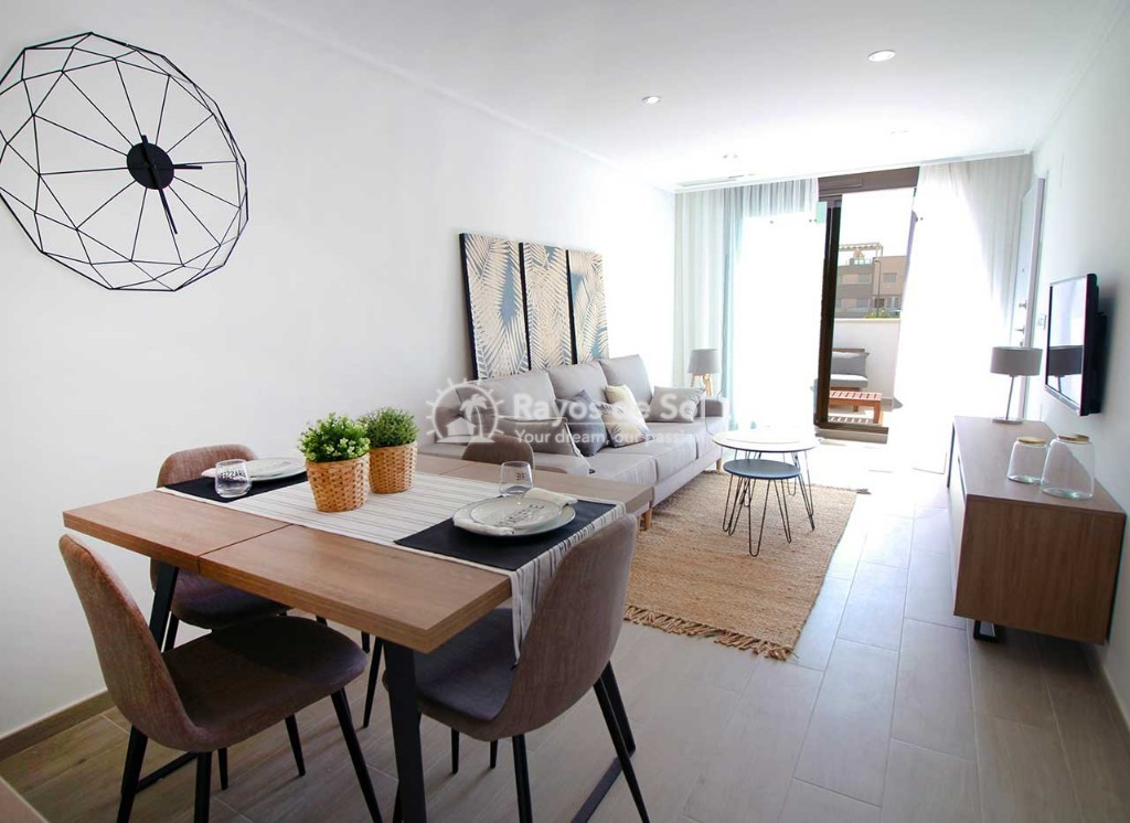 Ground Floor Apartment  in Torre de la Horadada, Pilar de la Horadada, Costa Blanca (portom5-gf) - 3