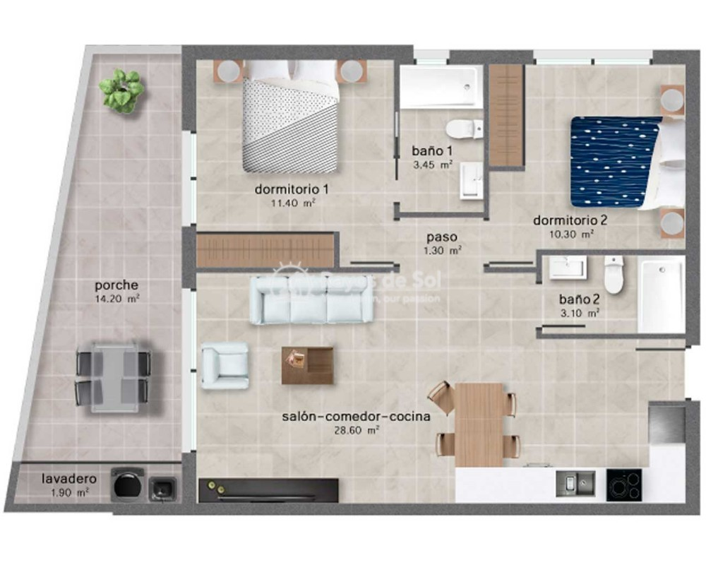 Appartement  in Santiago de la Ribera, Costa Cálida (sanuk) - 10
