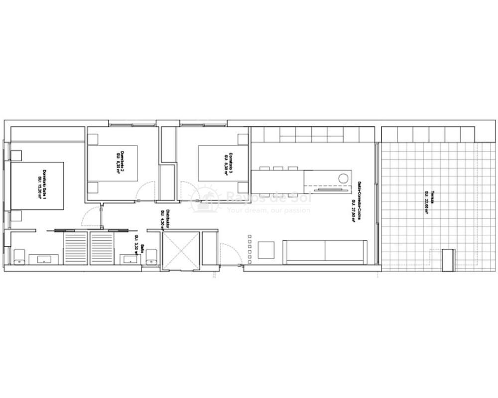 Ground Floor Apartment  in Ciudad Quesada, Costa Blanca (oceaniclux-gf) - 18