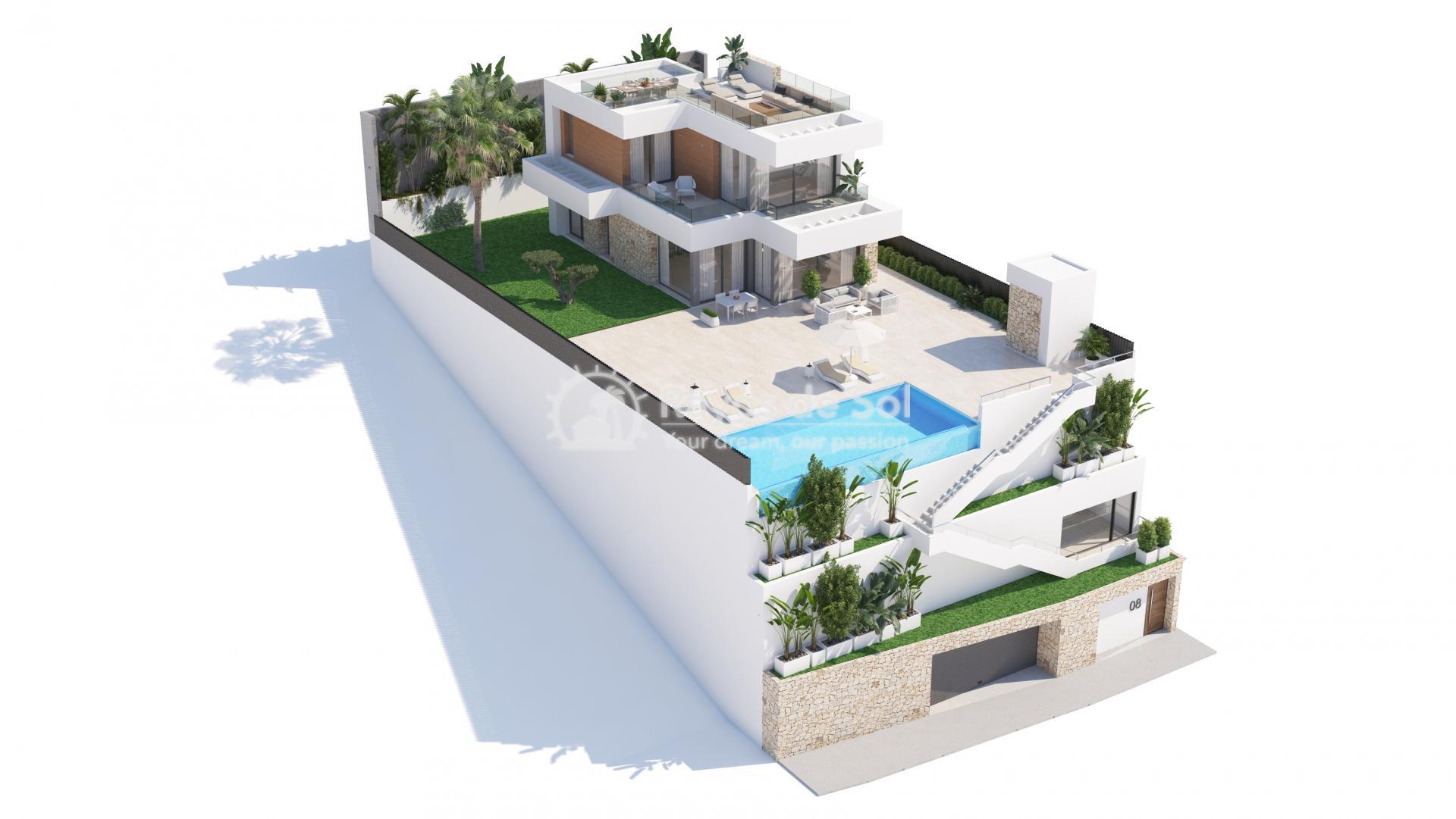 Villa  in Finestrat, Costa Blanca (seaview3-5) - 22
