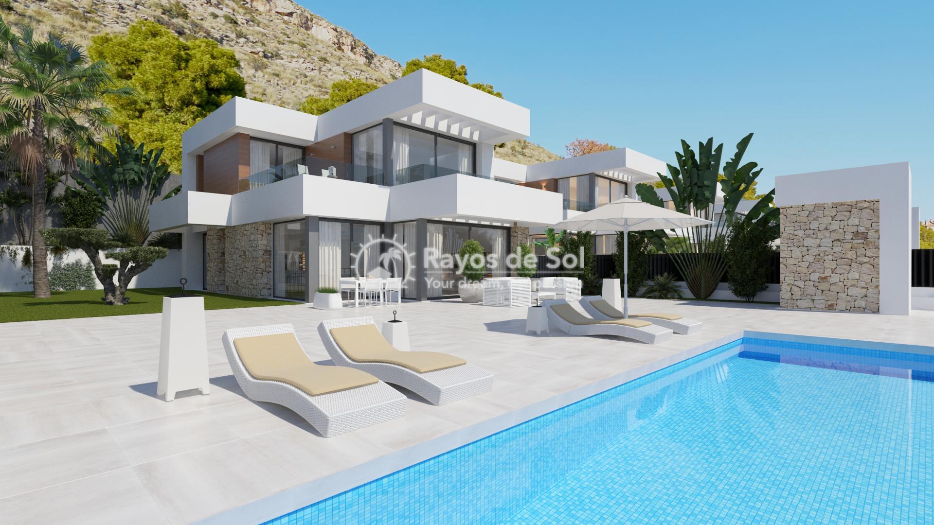 Villa  in Finestrat, Costa Blanca (seaview3-5) - 2