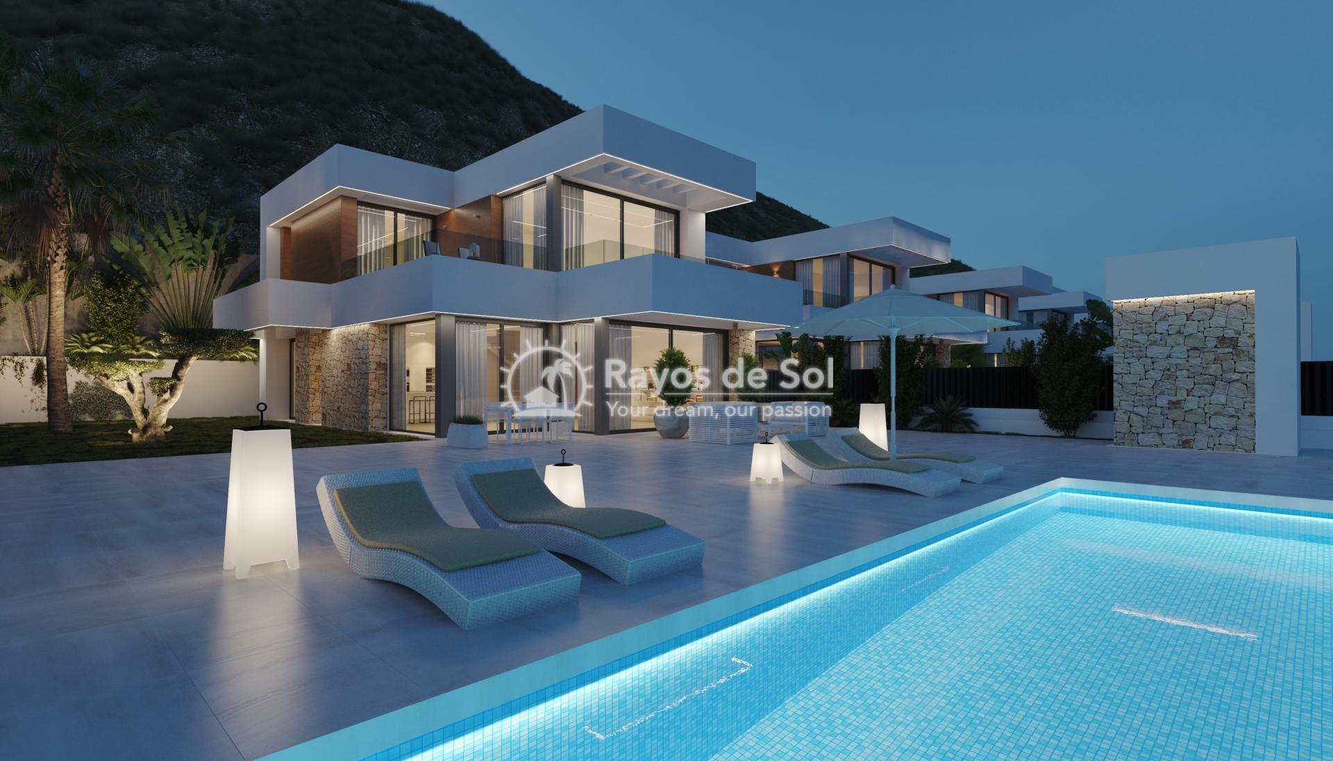 Villa  in Finestrat, Costa Blanca (seaview3-5) - 1