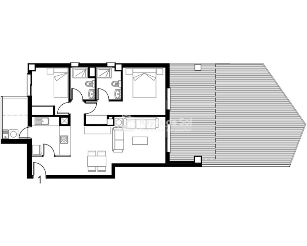 Apartment  in Torre de la Horadada, Pilar de la Horadada, Costa Blanca (pintoral-gf-2d) - 5