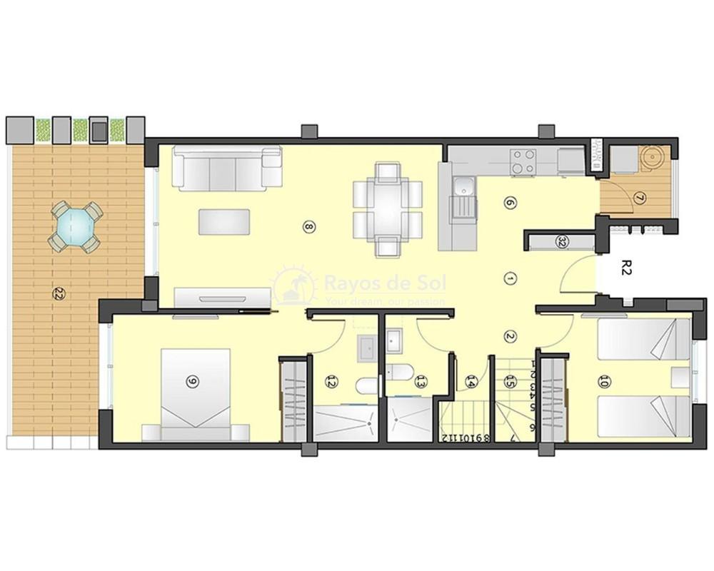 Apartment  in Villamartin, Orihuela Costa, Costa Blanca (gala-ph-2d) - 9
