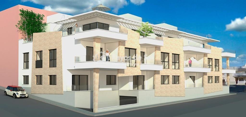 Apartment  in Torre de la Horadada, Pilar de la Horadada, Costa Blanca (vazul33-3d) - 2