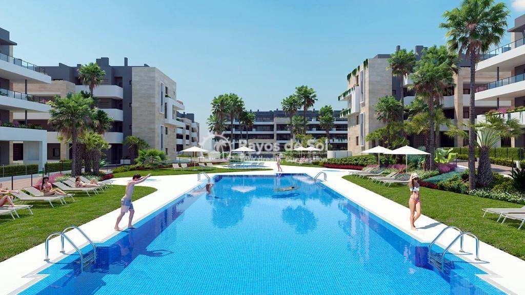 Apartment  in Playa Flamenca, Orihuela Costa, Costa Blanca (flamencav-3d) - 1