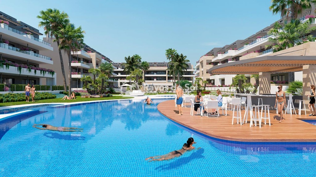 Apartment  in Playa Flamenca, Orihuela Costa, Costa Blanca (flamencav-3d) - 6