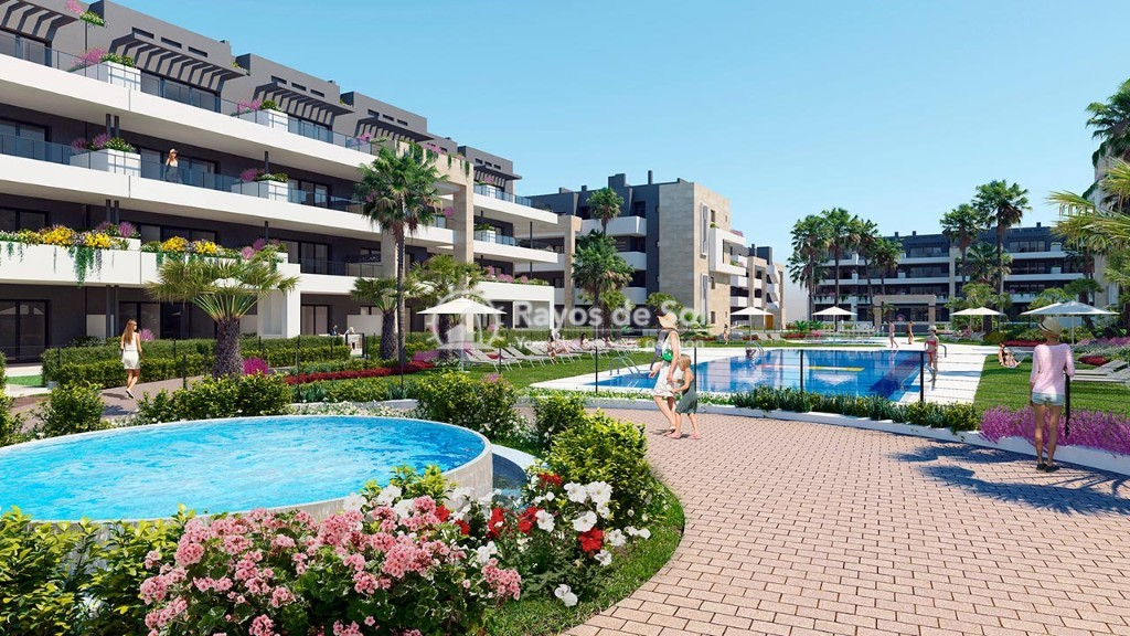 Apartment  in Playa Flamenca, Orihuela Costa, Costa Blanca (flamencav-ph-2d) - 2