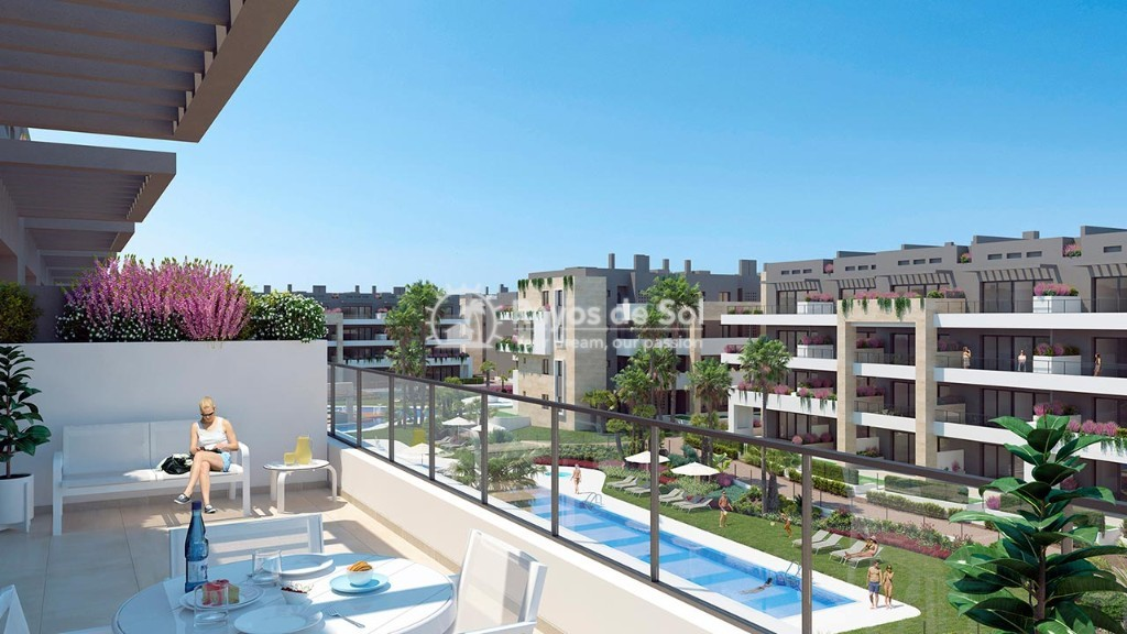 Apartment  in Playa Flamenca, Orihuela Costa, Costa Blanca (flamencav-ph-2d) - 10