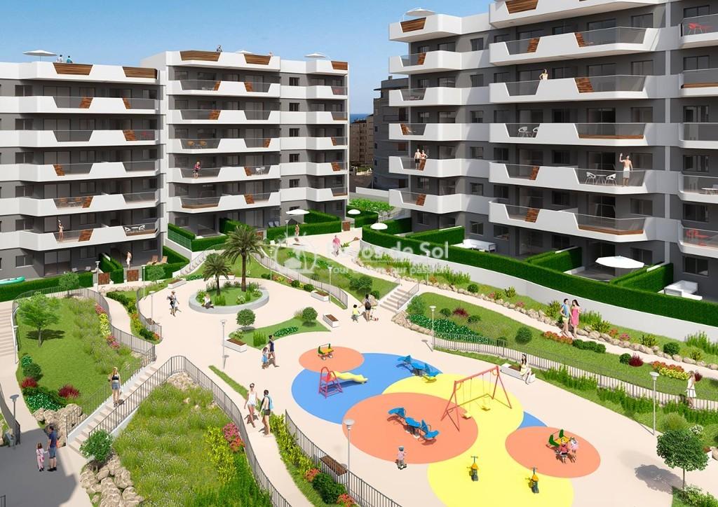 Apartment  in Los Arenales Del Sol, Costa Blanca (arenalesp9-gf-2d) - 9