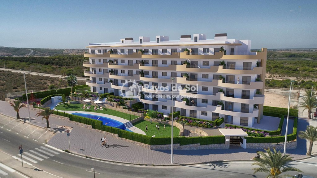 Apartment  in Los Arenales Del Sol, Costa Blanca (arenalesp10-2d) - 1