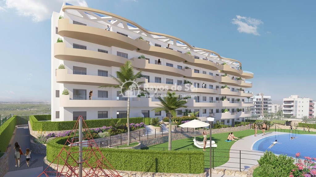 Penthouse  in Los Arenales Del Sol, Costa Blanca (arenalesp10-ph-2d) - 4